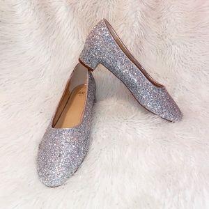 H&M Glitter Kitten Heel